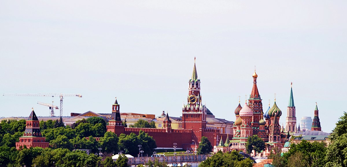 Кремль и собор Василия Блаженного. - Владимир Болдырев