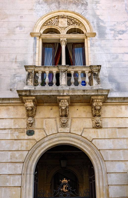 Балкон в стиле барокко.. - Виктор Льготин