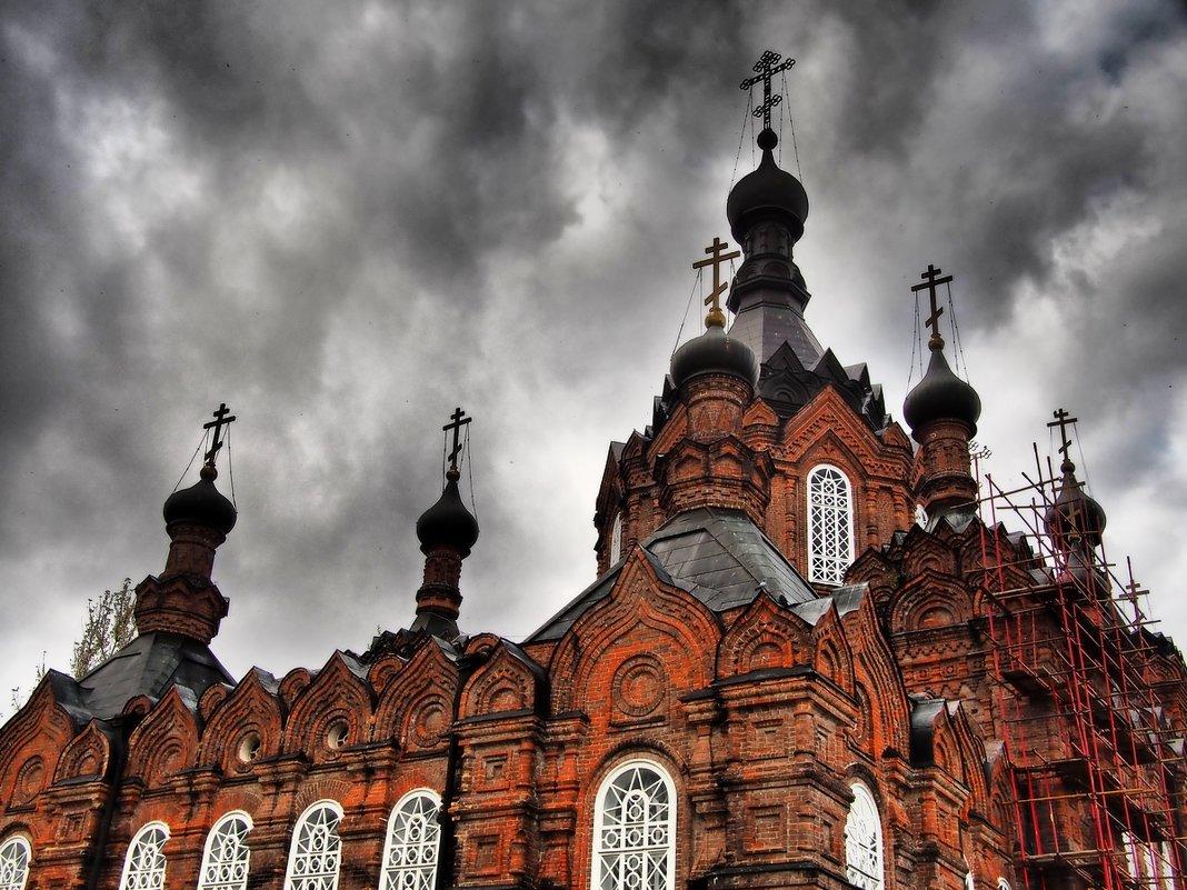 Монастырь в Шамордино. - Olga Kramoreva