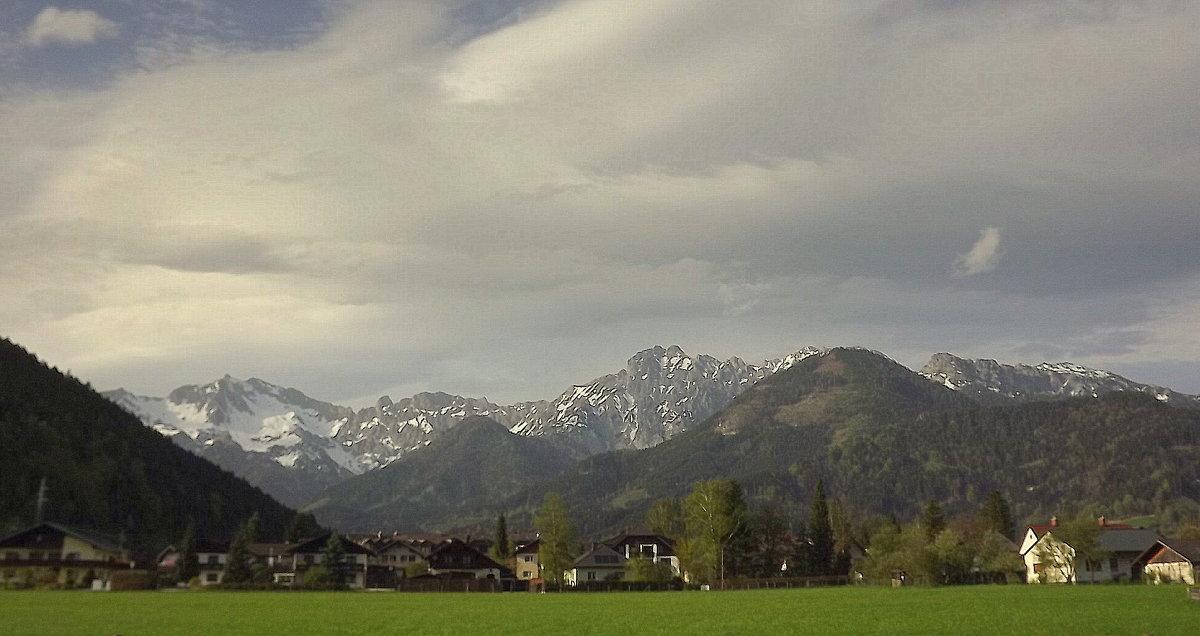 Альпийская долина... - Эдвард Фогель