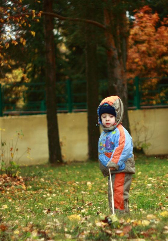 в парке - Игорь