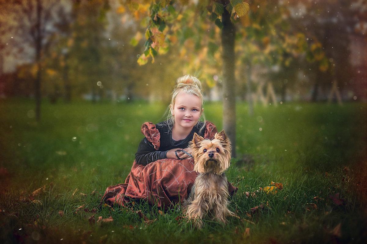 Девочка с собакой - Виктор Седов