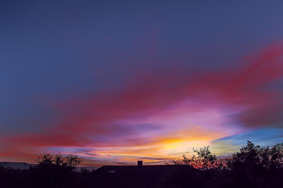 Осенние закаты - Владимир Хижко