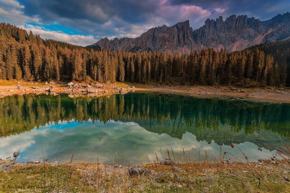 Lago di Carezza - михаил