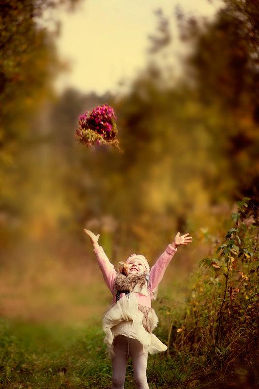 Учимся бросать букет невесты)) - Andrey Stanislavovich