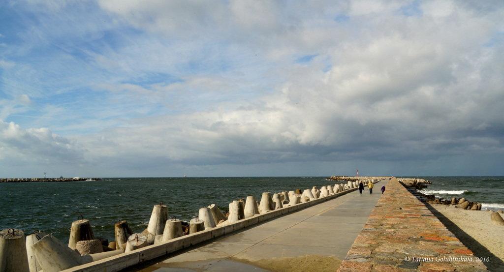 Wind on the Baltic sea. Ветер на Балтике. - Tatiana Golubinskaia