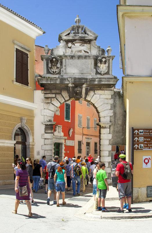 Вход в старый город через Римскую арку 1-2 в.н.э. - Cергей Павлович