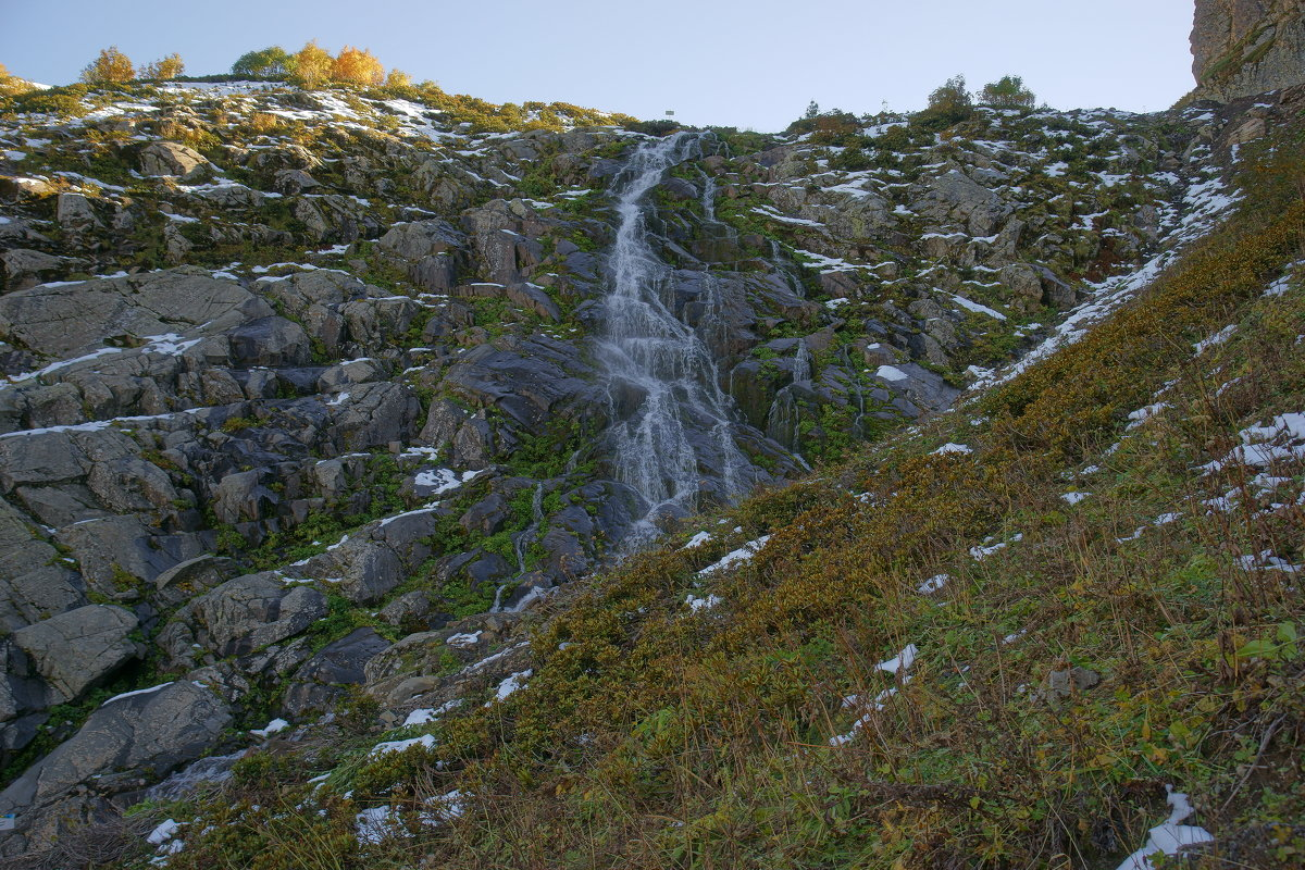 Аибга, водопад Медвежий - Олег Кручинин