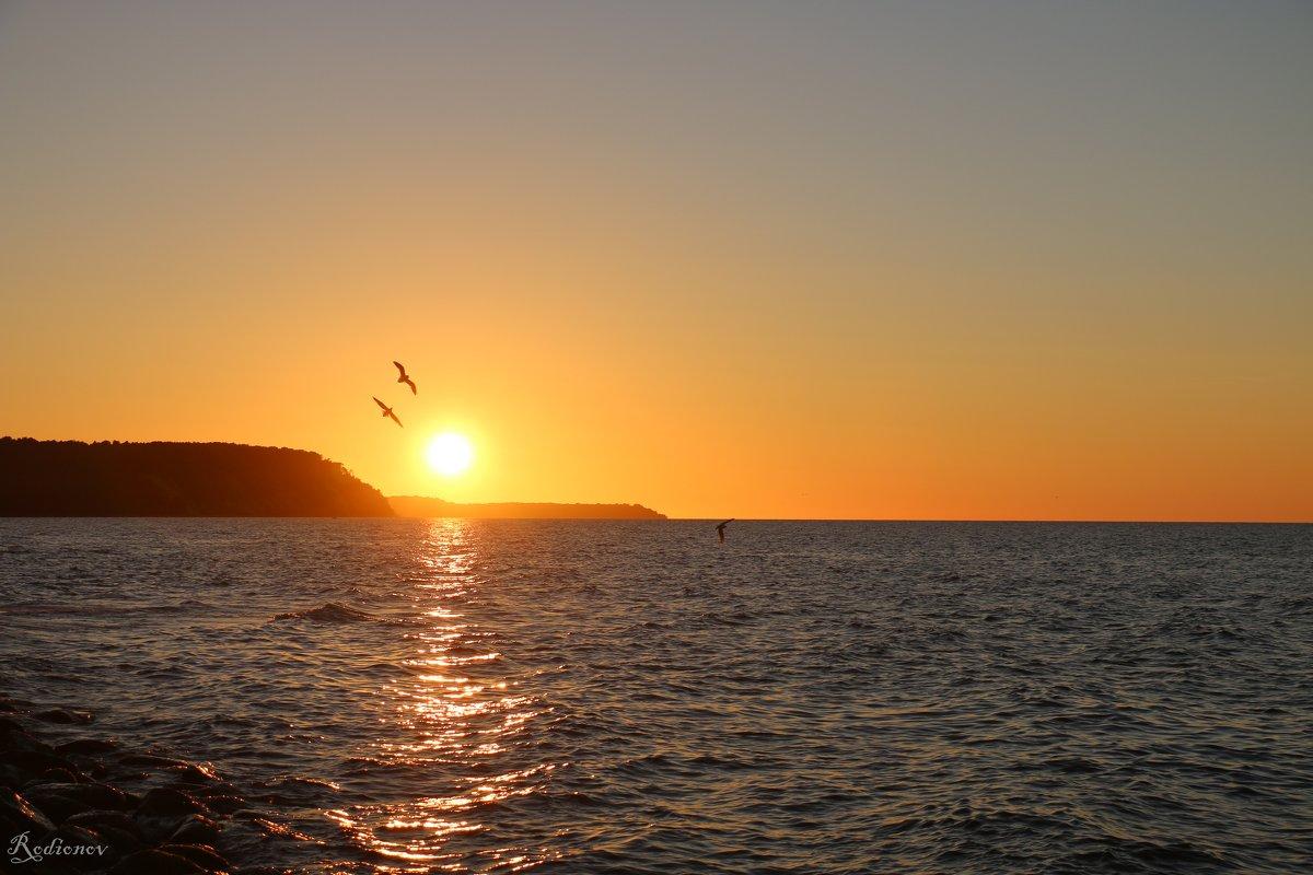 Закат на Балтийском море - Илья Родионов