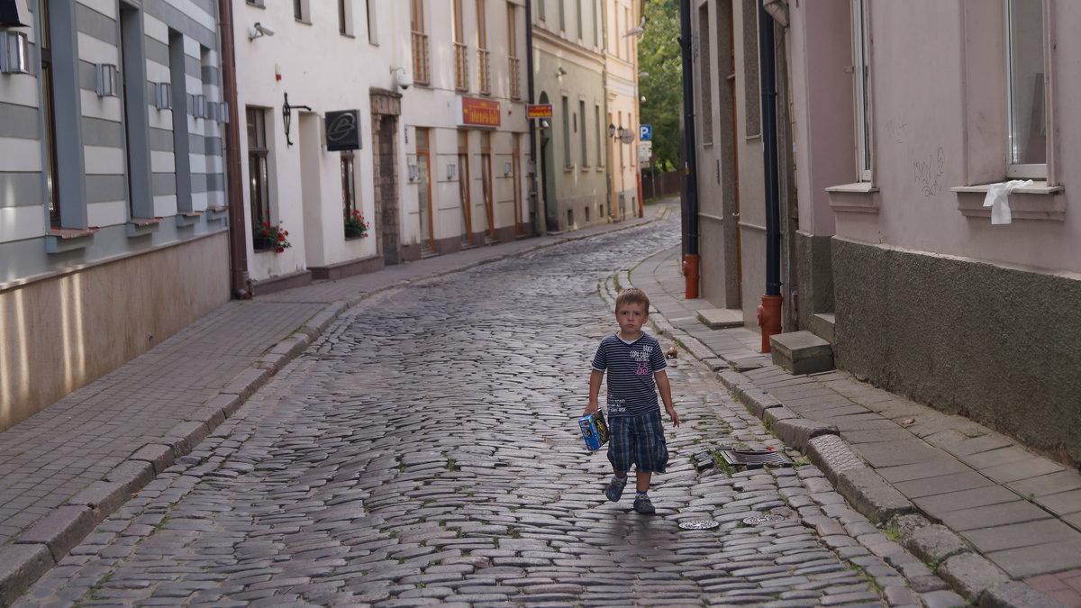 Рижская улочка - Андрей