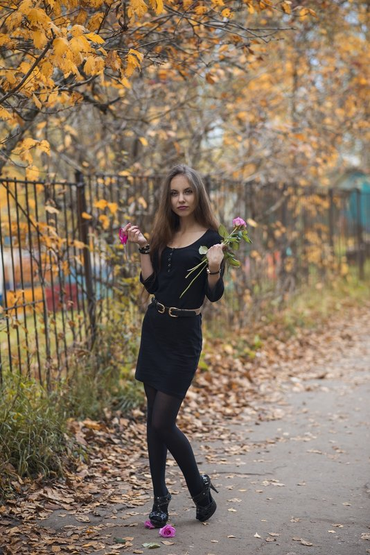 Портрет Валерии Ким - Женя Рыжов