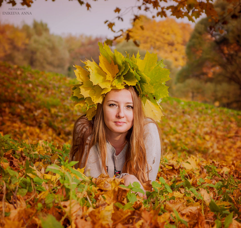 золотая осень 2 ) - Anna Enikeeva