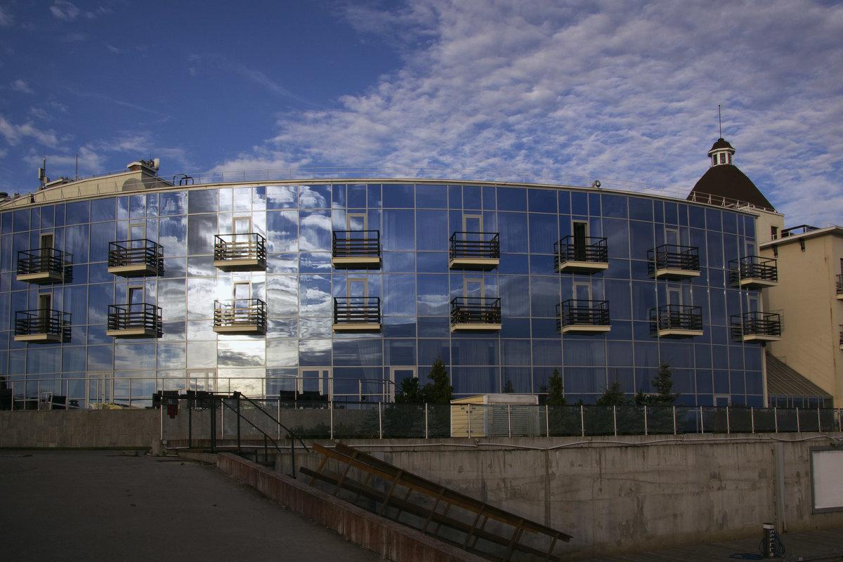 Синее здание - Aнна Зарубина