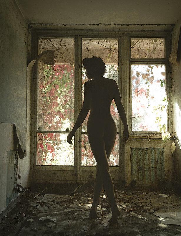 Призрак заброшенной усадьбы... - Елена