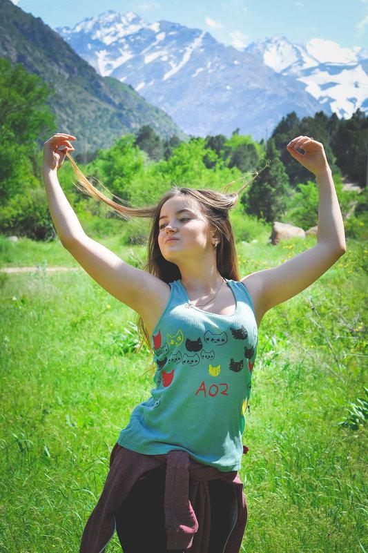 в горах - Валерия Бунак