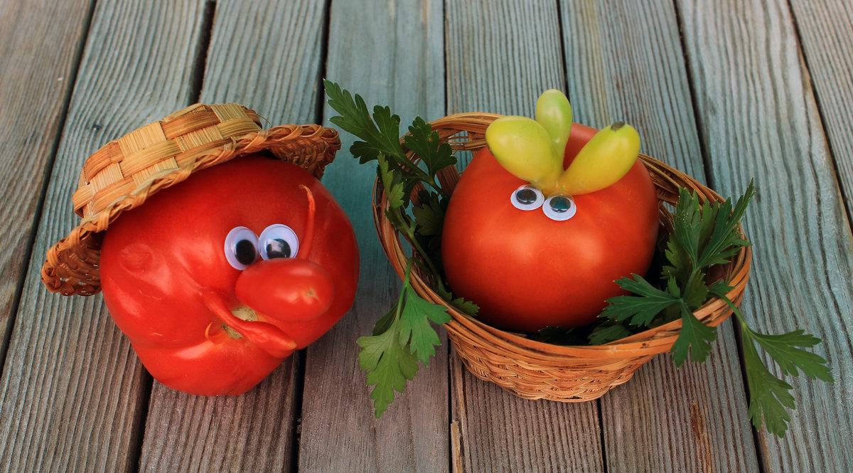 Из жизни овощей: томаты - Галина Galina