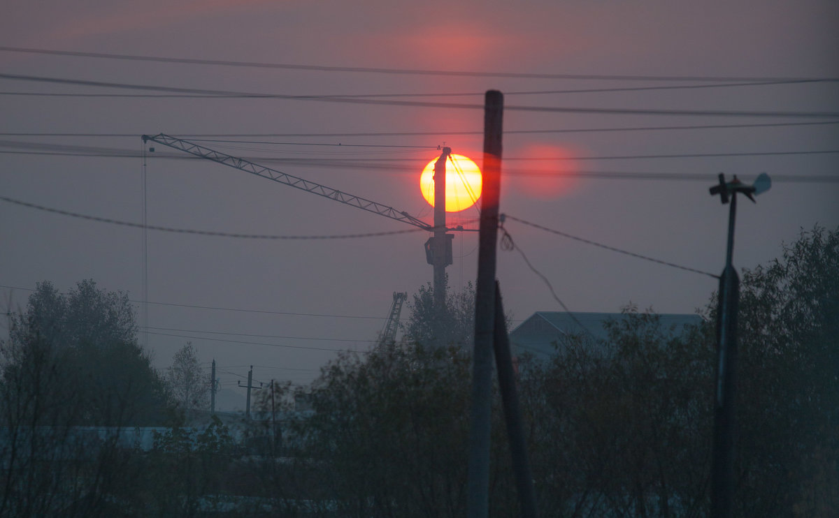Холодное осеннее утро - Вадим Лячиков