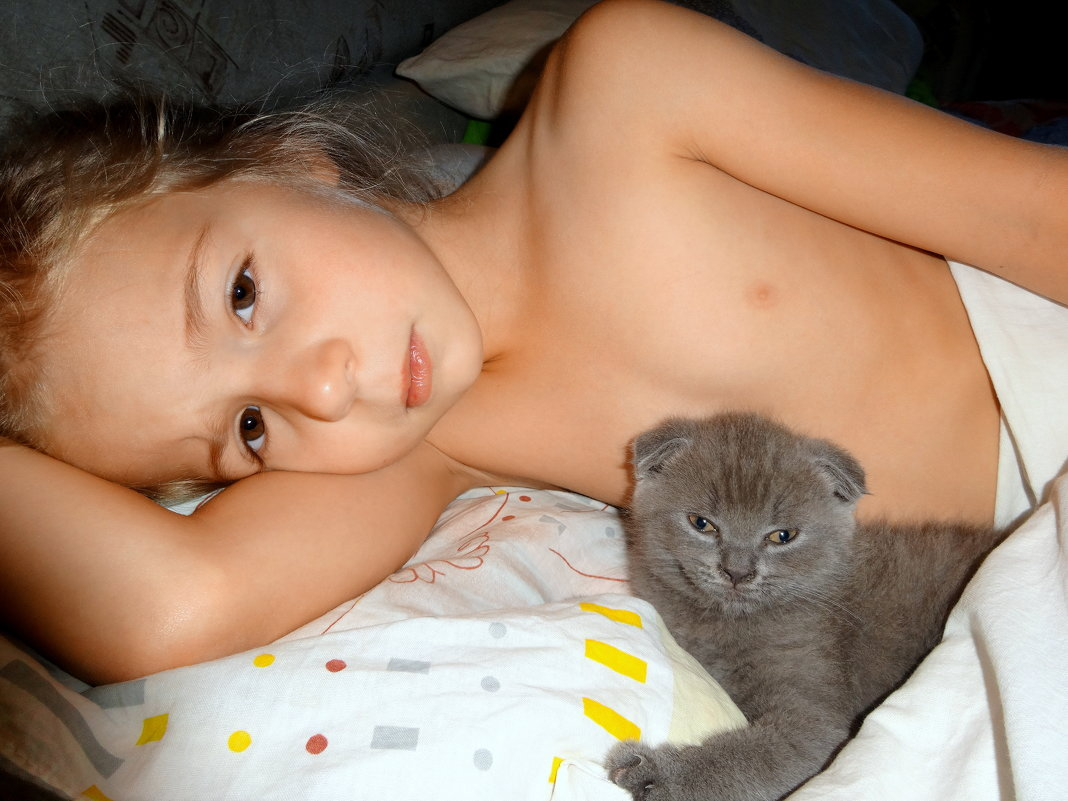 Спят ребятки и котятки! - Елизавета Успенская