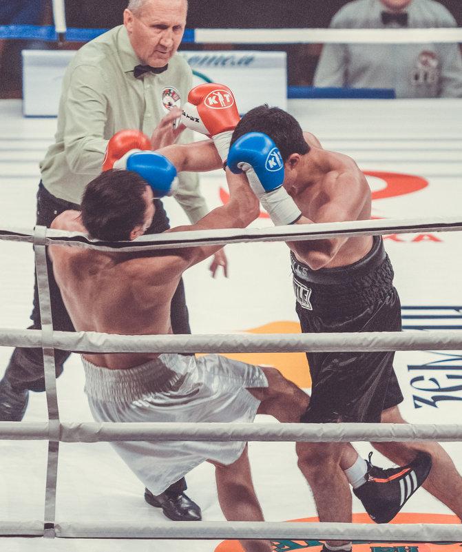 Бойцы в ринге - Александр Колесников