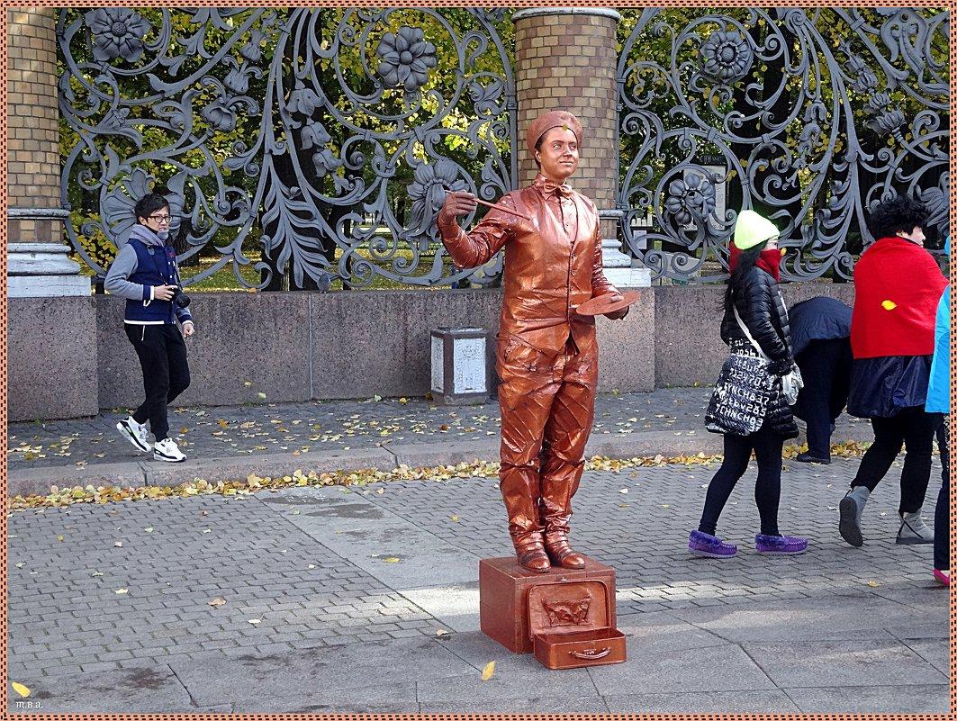 Живые статуи - Вера