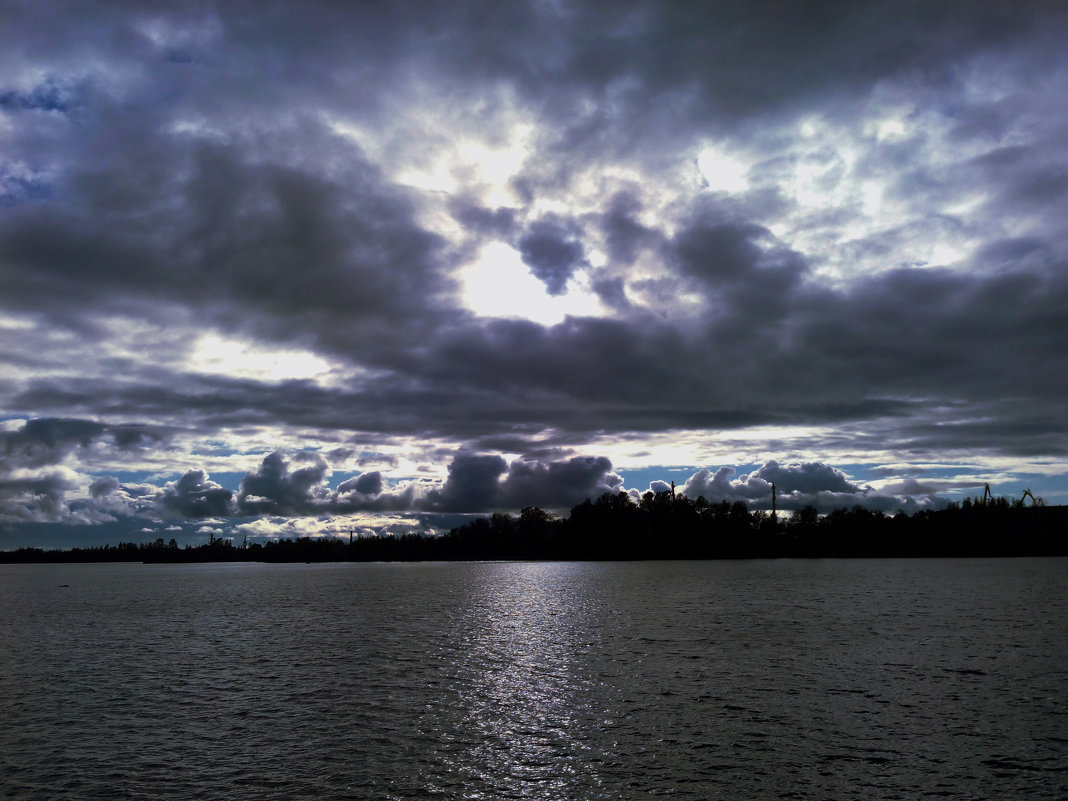 Небо над Финским заливом - Александра Кускова