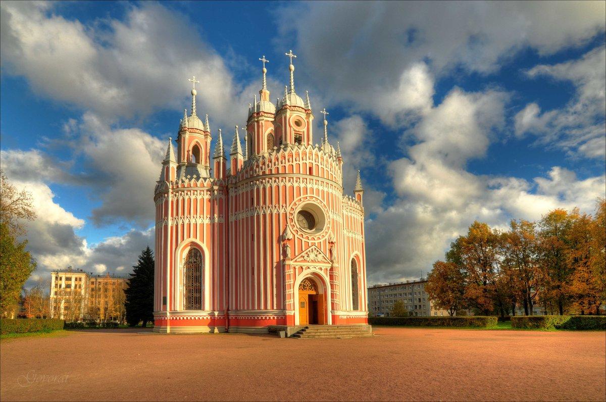Чесменская церковь - Алексей Говорушкин