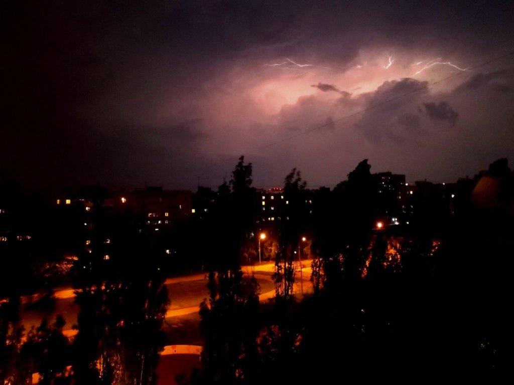 Ночная гроза - Самохвалова Зинаида