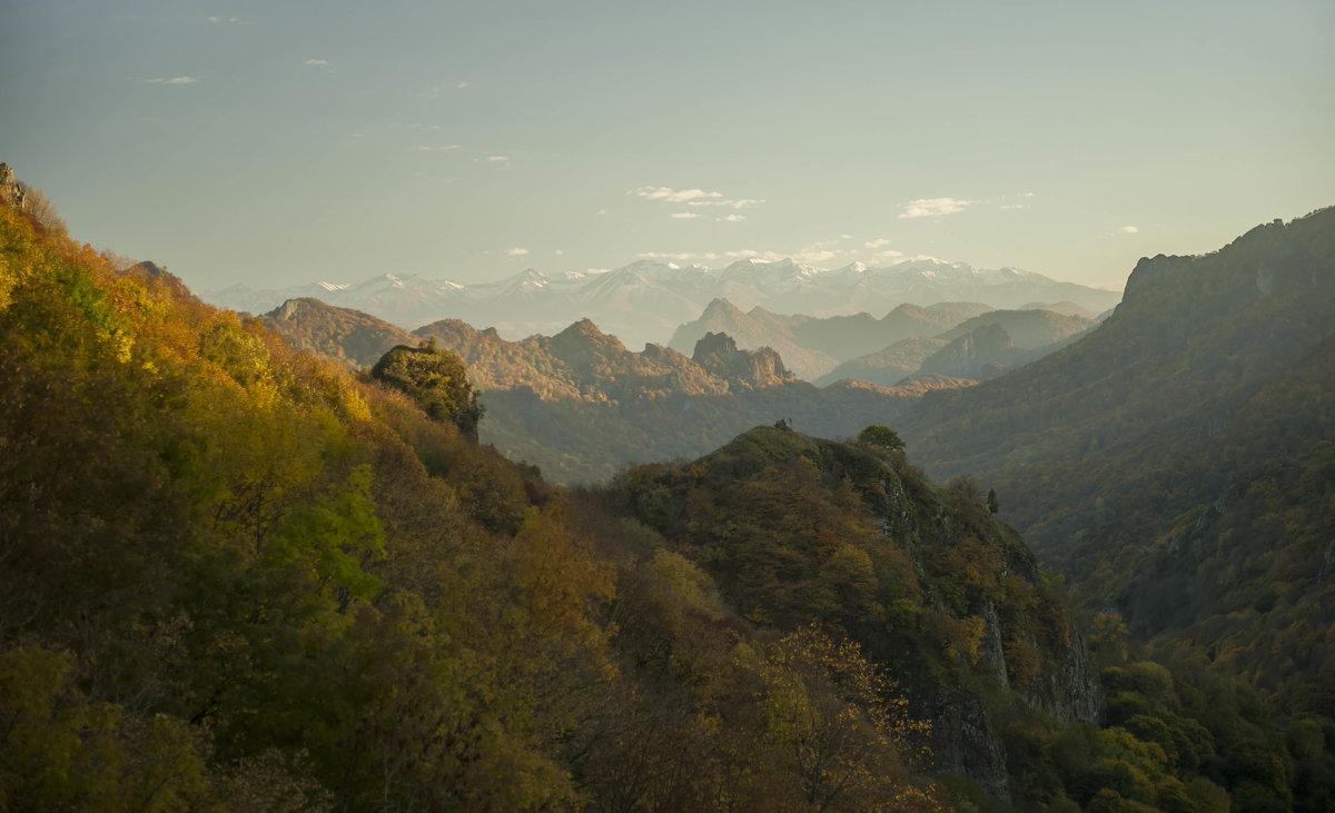 Вид с горы Шоан - Евгений Khripp