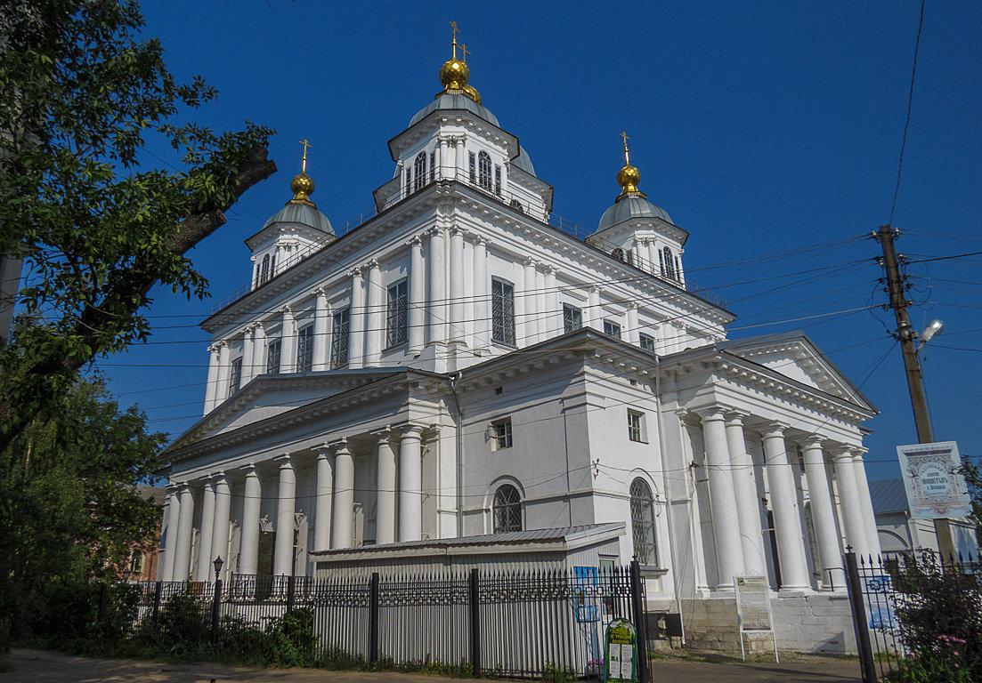 Казанский девичий монастырь в Ярославле - Сергей Цветков