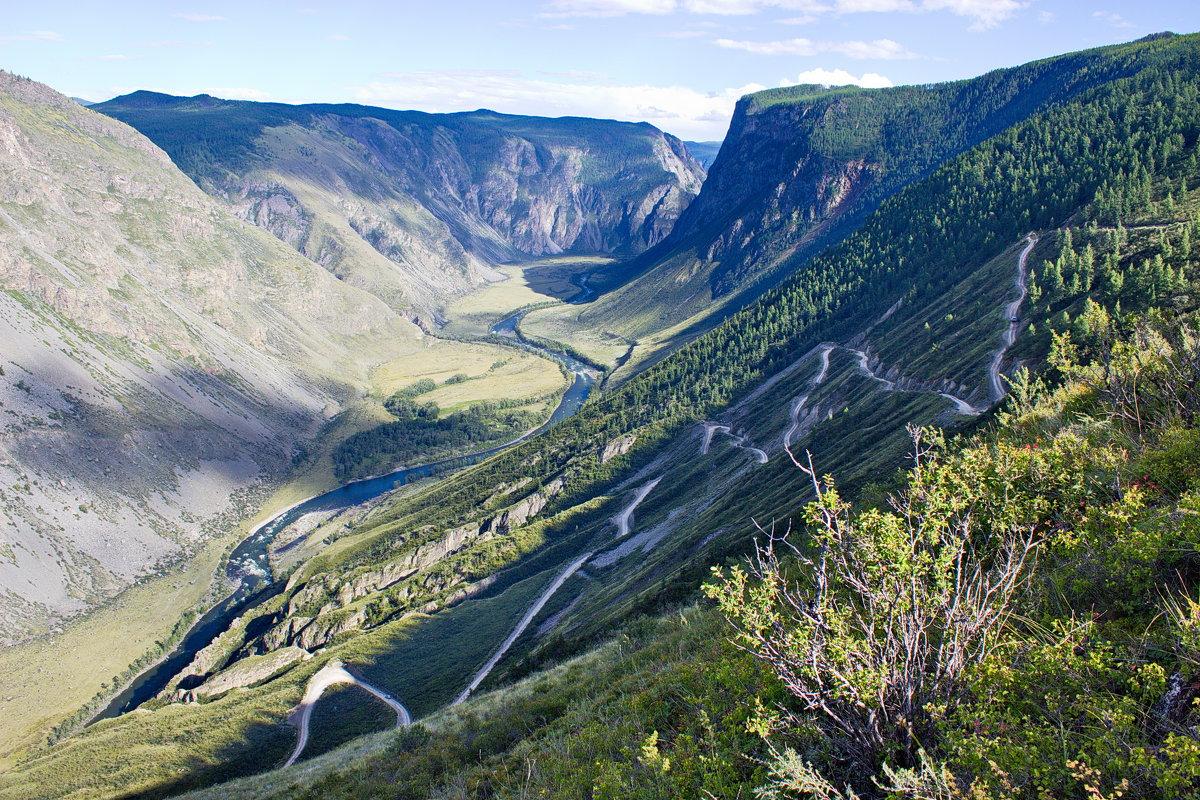 Спуск с перевала Кату-Ярык - val-isaew2010 Валерий Исаев