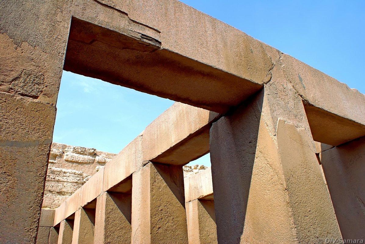 Долинный храм Хефрена в Гизе - Денис Кораблёв