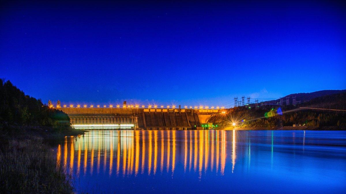 Красноярская ГЭС - Дмитрий Брошко