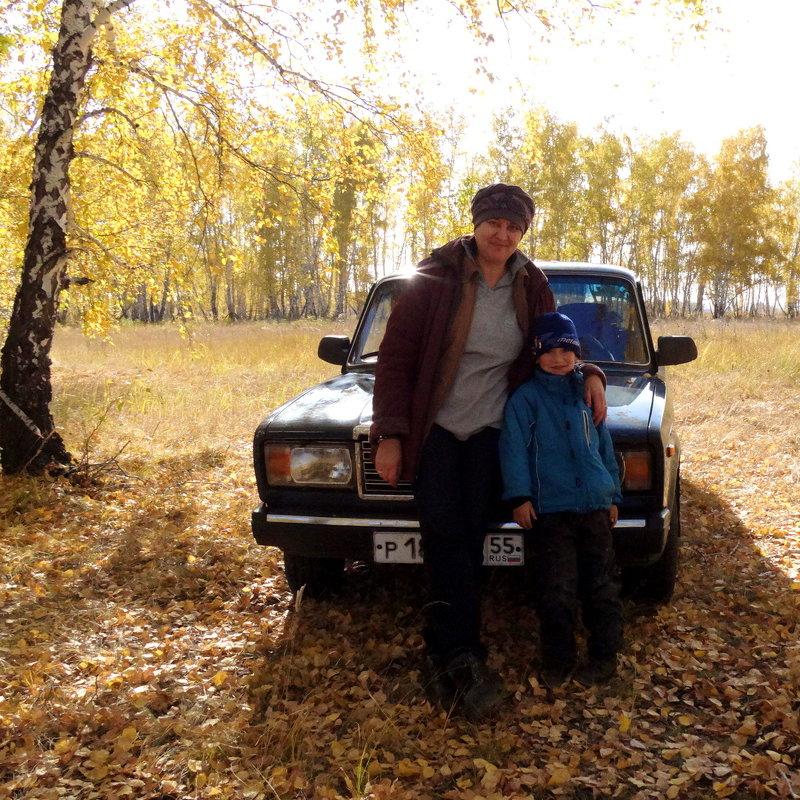 С внуком на прогулке - Ирина Полозюк