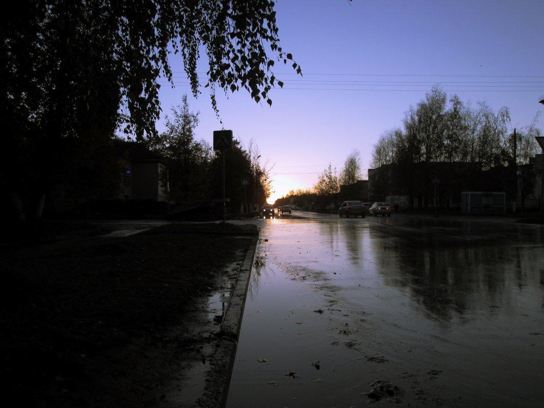 Дождливый закат. - Sergey Serebrykov