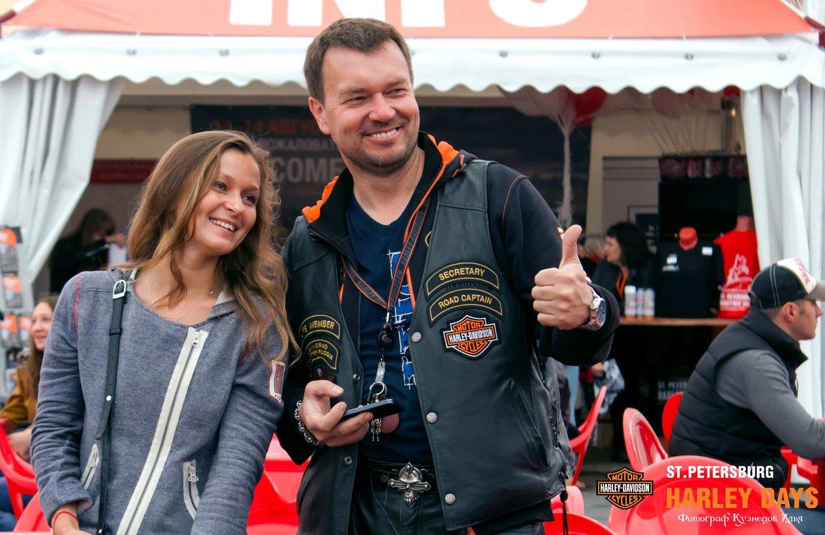 Фестиваль St. Pitersburg Harley Days 2016 - Илья Кузнецов