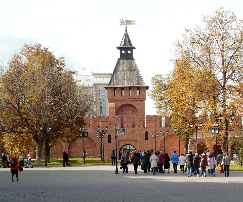 На территории  Тульского Кремля. - Мила