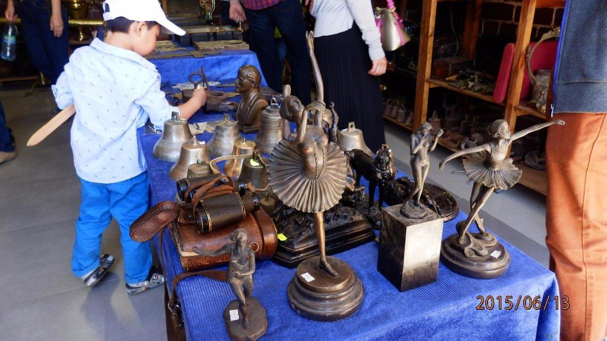 бронзовые статуэтки - Таня