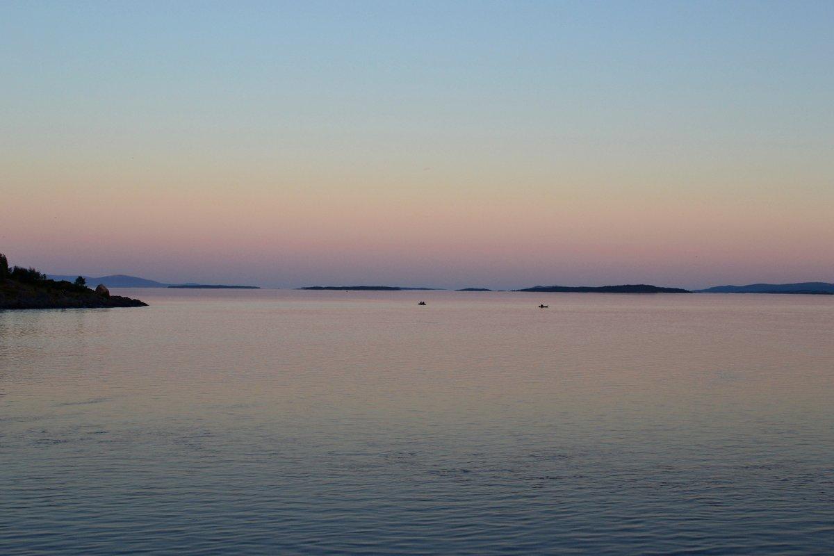 Вечер у Белого моря - Ольга