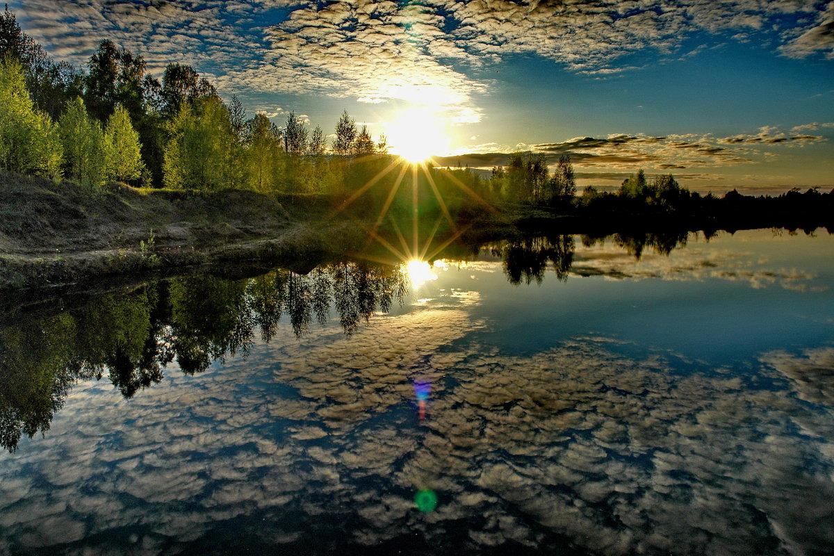 Смотрю в озера синие..... - Владимир