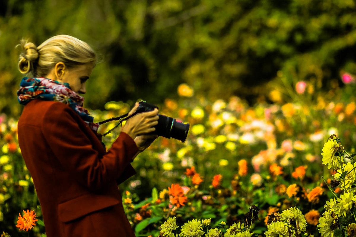 Фотографируем цветы... - Nonna