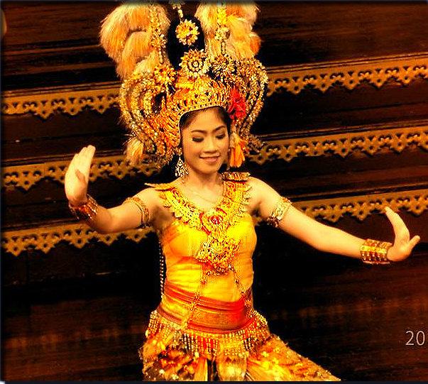 тайский танец - Таня