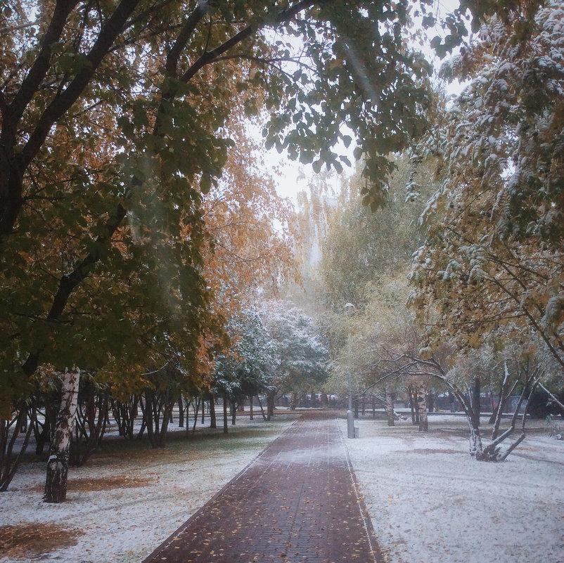 Первый снег - Larissa