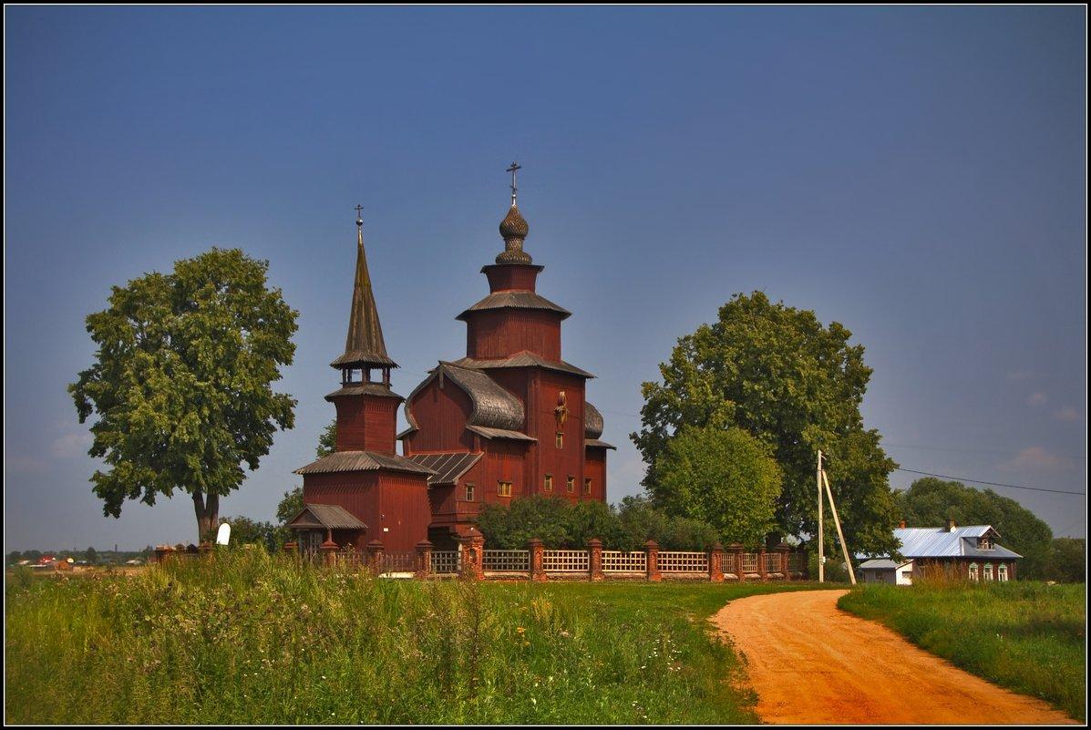 Церковь Иоанна Богослова на Ишне, 1687-1689 - Дмитрий Анцыферов