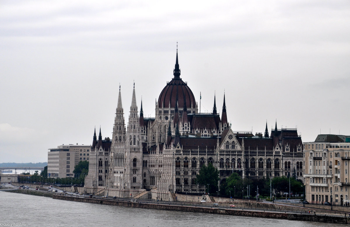 Будапешт(Венгрия)Здание венгерского парламента - Georg Förderer