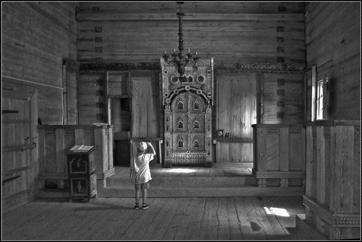 в древнем храме - Дмитрий Анцыферов