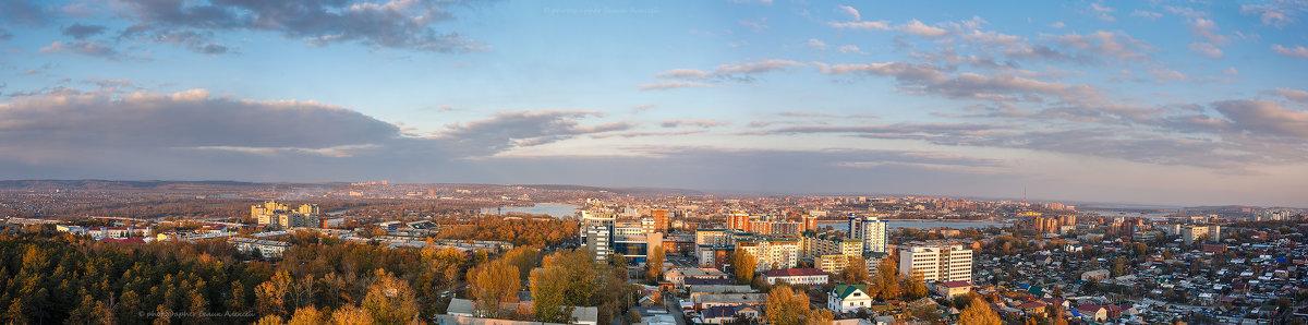 Осенний Иркутск - Алексей Белик