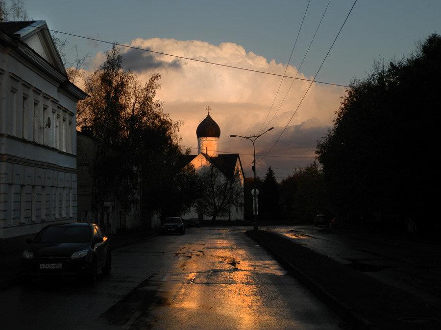 Вечерняя туча - Павел