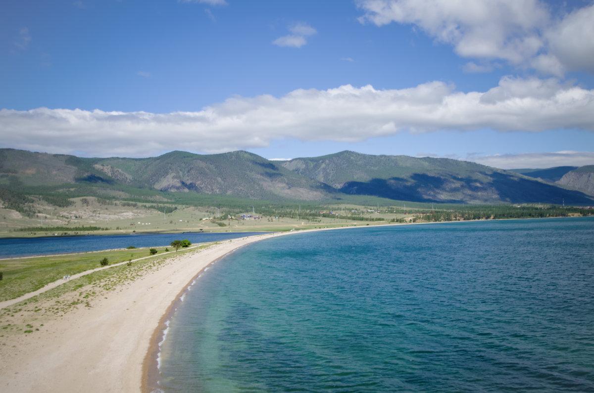Байкал, вид с мыса Уюга - Виктория