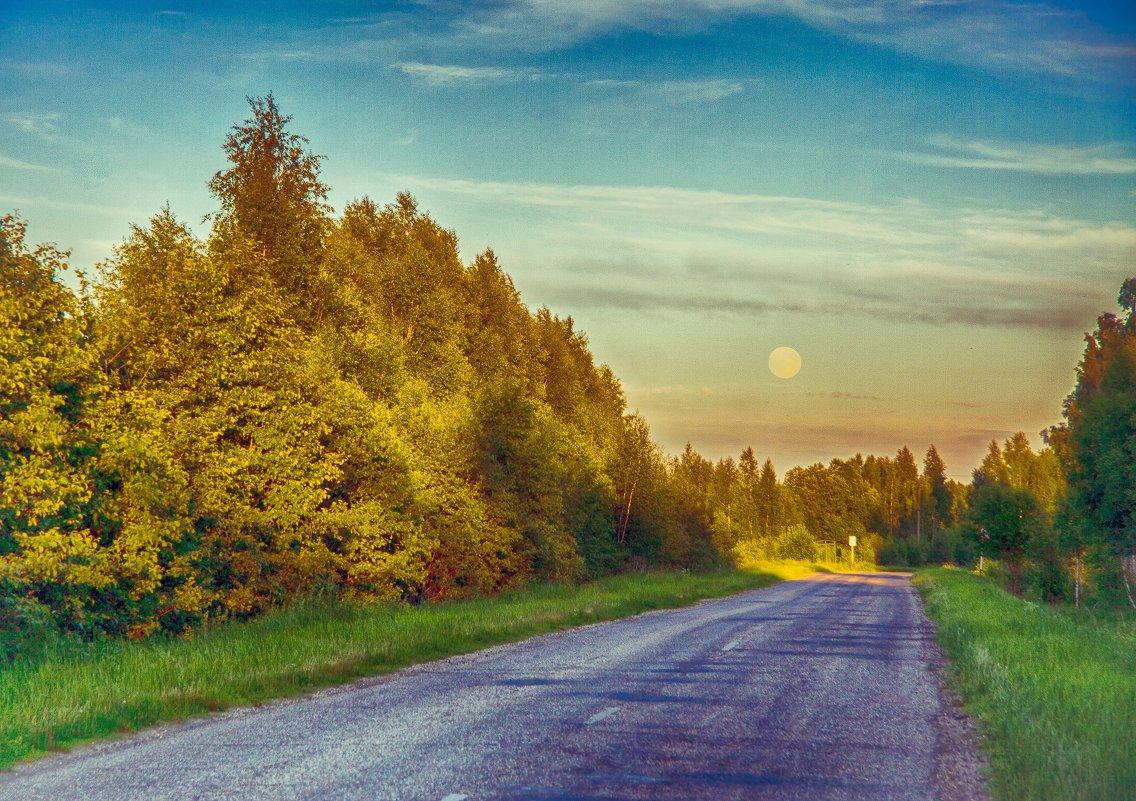 дневная луна - Константин Нестеров