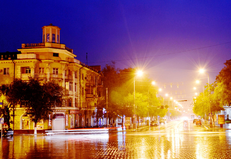 ночной город - Елена